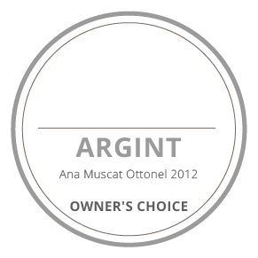 medalie argint ana muscat ottonel 2012 owners's choice